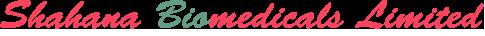 Shahana Biomedicals Logo